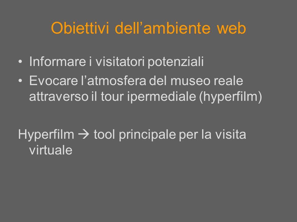 Obiettivi dell'ambiente web