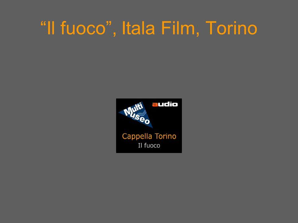 Il fuoco , Itala Film, Torino