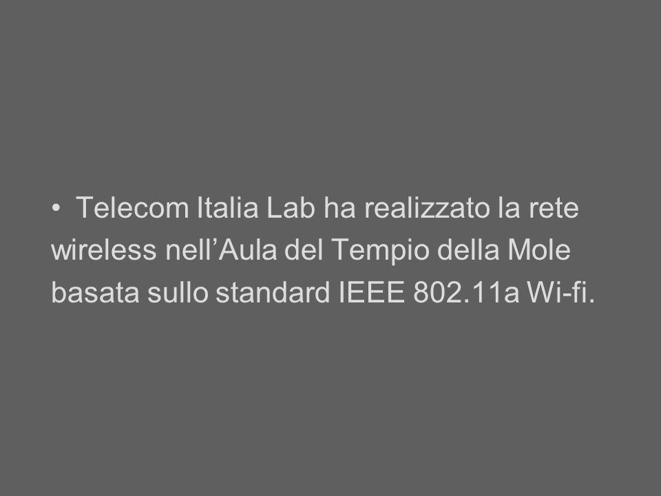 Telecom Italia Lab ha realizzato la rete