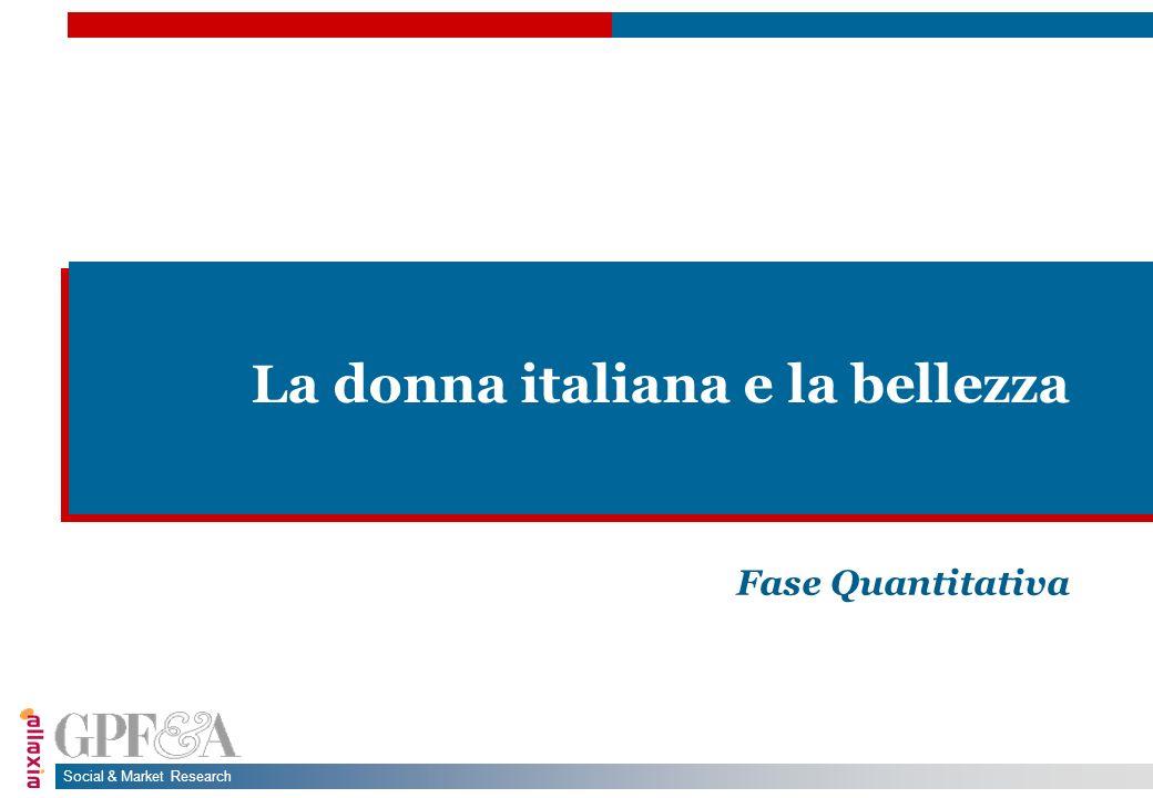 La donna italiana e la bellezza