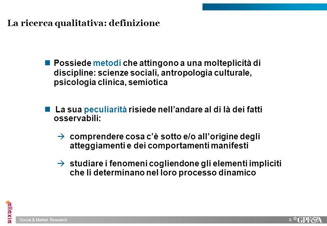 La ricerca qualitativa: definizione