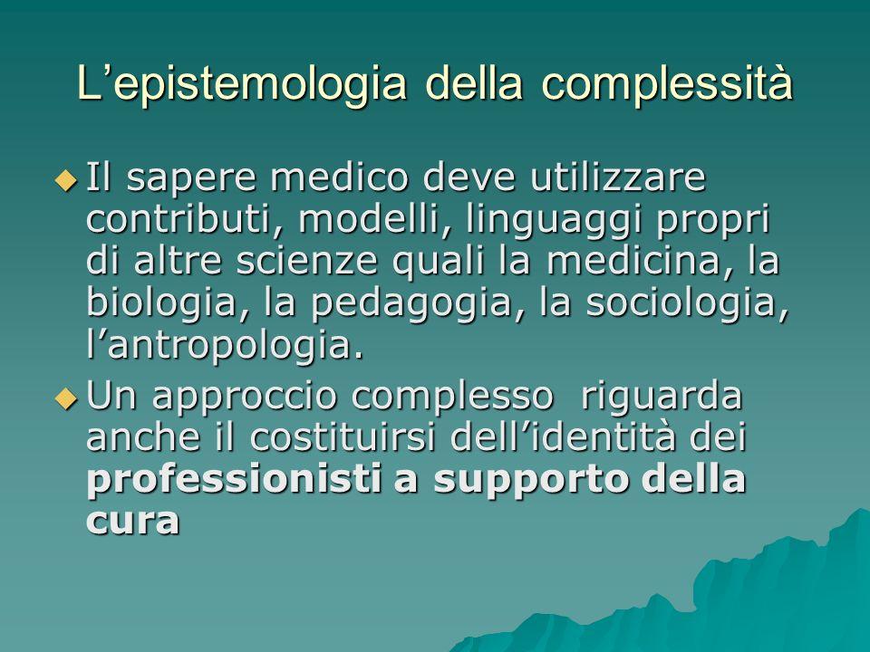 L'epistemologia della complessità