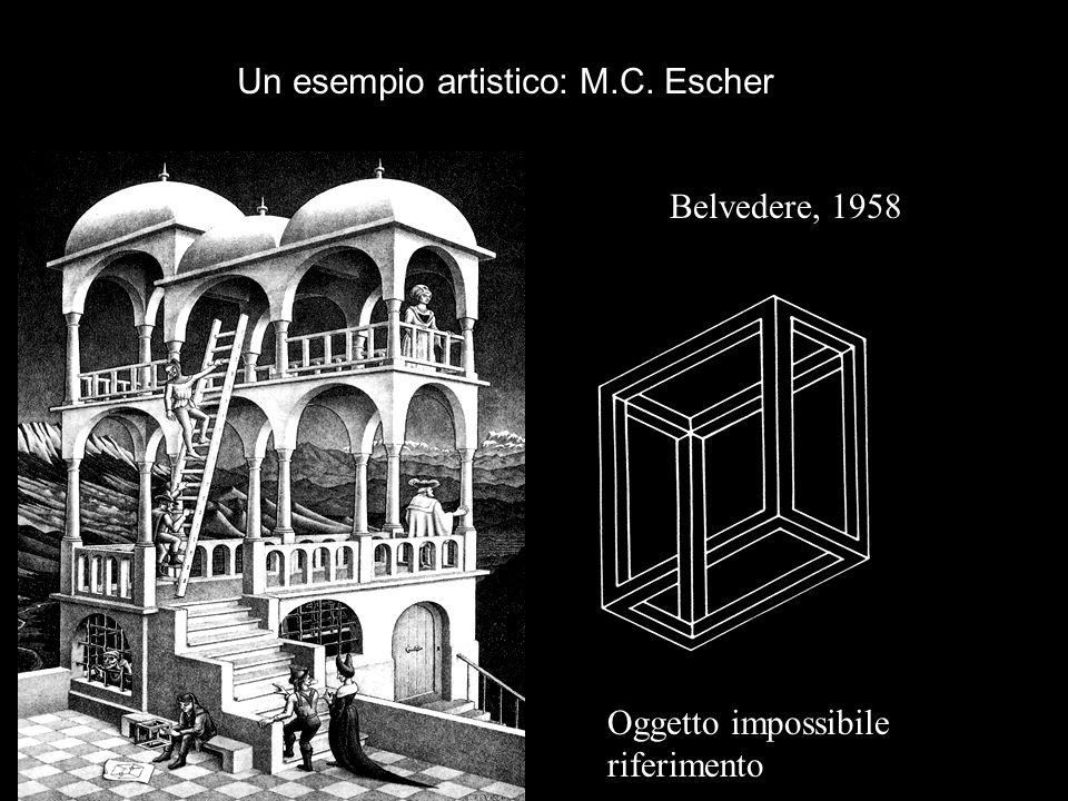 Un esempio artistico: M.C. Escher