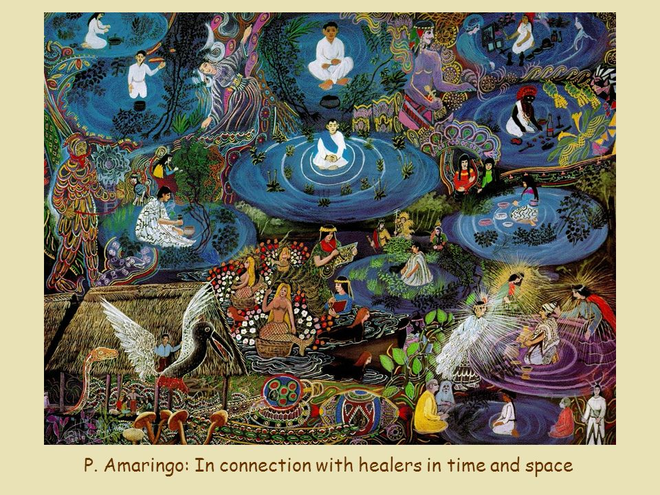 P. Amaringo: In connection with healers in time and space