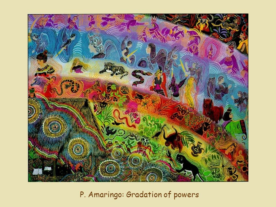 P. Amaringo: Gradation of powers