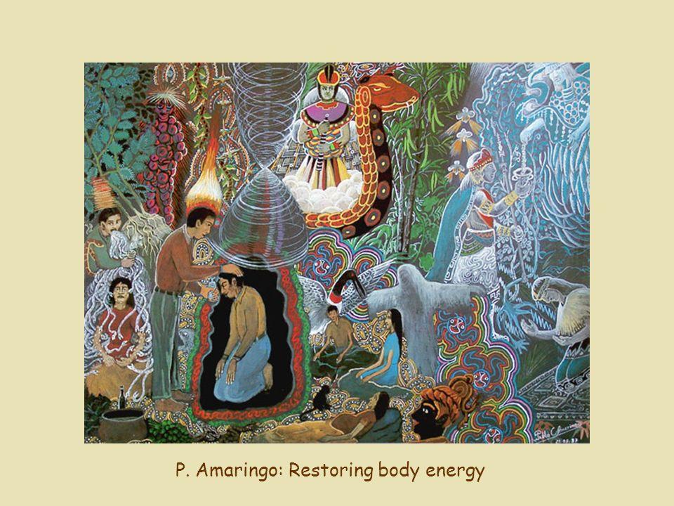 P. Amaringo: Restoring body energy