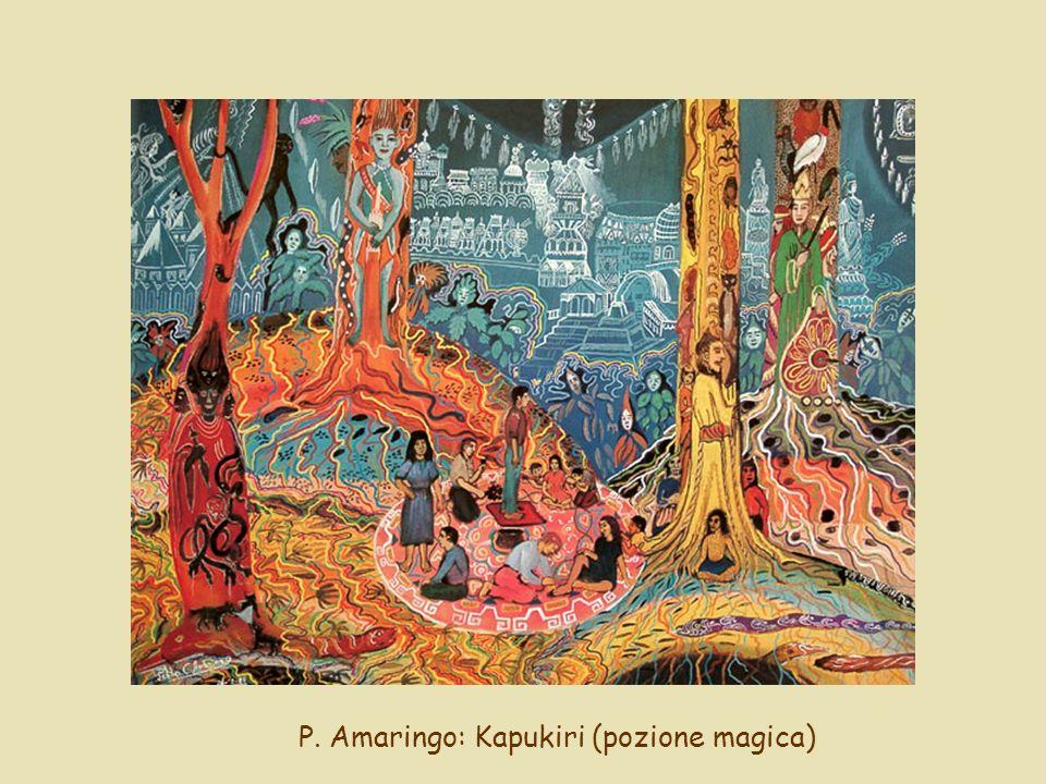 P. Amaringo: Kapukiri (pozione magica)