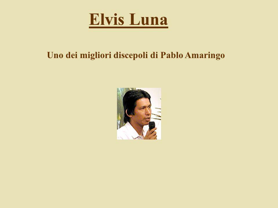 Elvis Luna Uno dei migliori discepoli di Pablo Amaringo