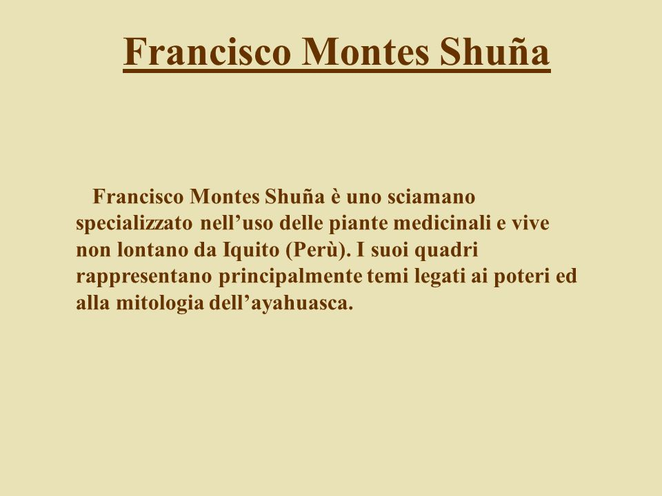 Francisco Montes Shuña