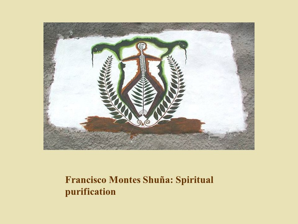 Francisco Montes Shuña: Spiritual purification