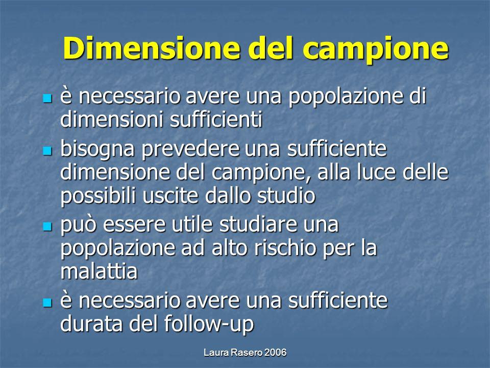 Dimensione del campione