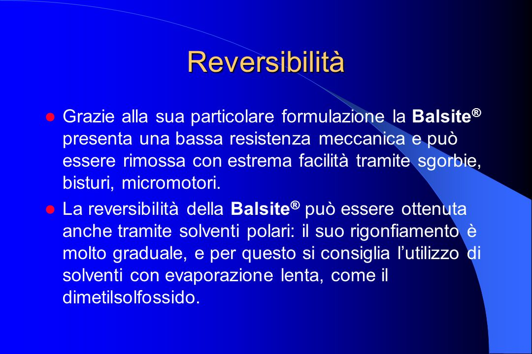 Reversibilità