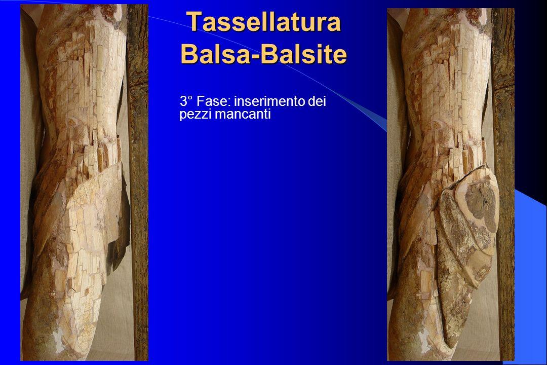 Tassellatura Balsa-Balsite