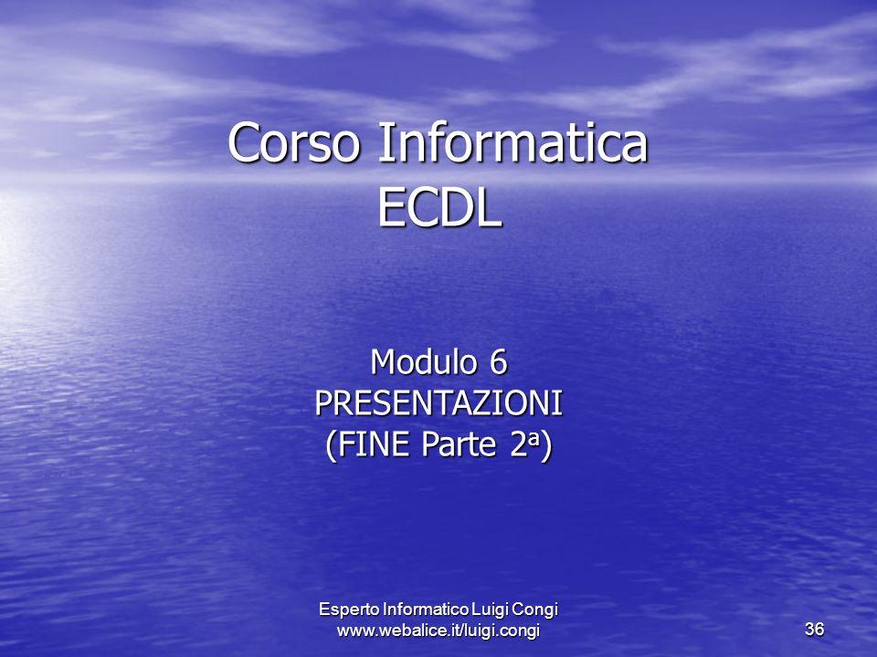 Corso Informatica ECDL