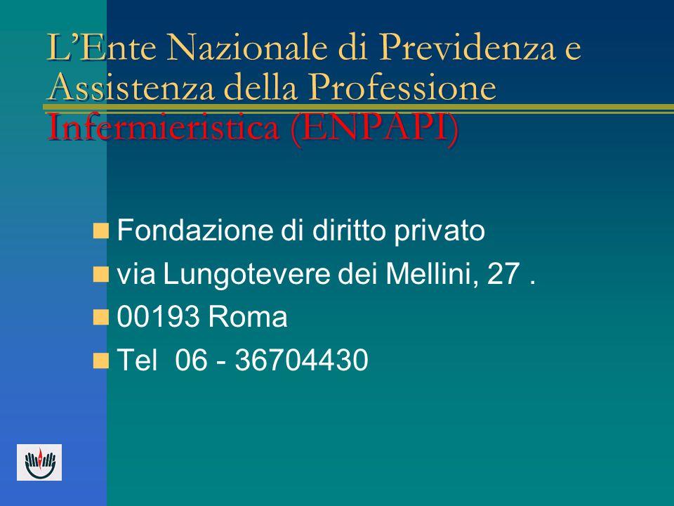 L'Ente Nazionale di Previdenza e Assistenza della Professione Infermieristica (ENPAPI)