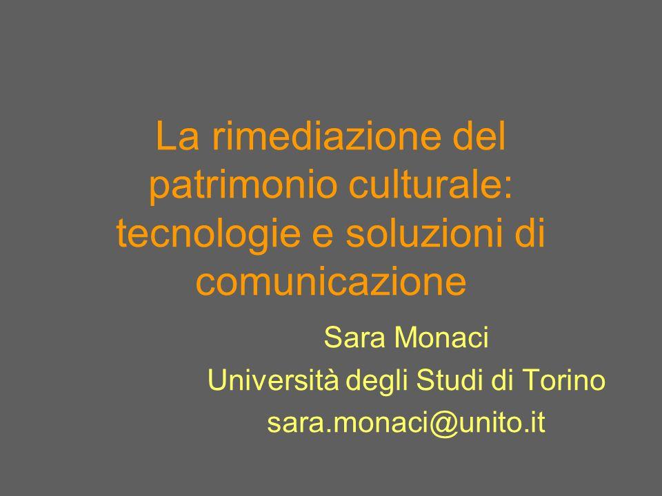 Sara Monaci Università degli Studi di Torino sara.monaci@unito.it
