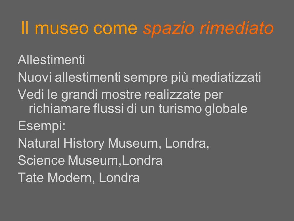 Il museo come spazio rimediato