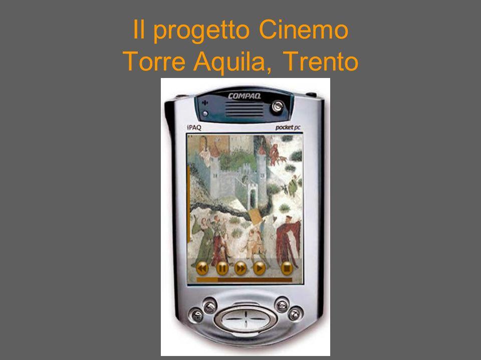 Il progetto Cinemo Torre Aquila, Trento