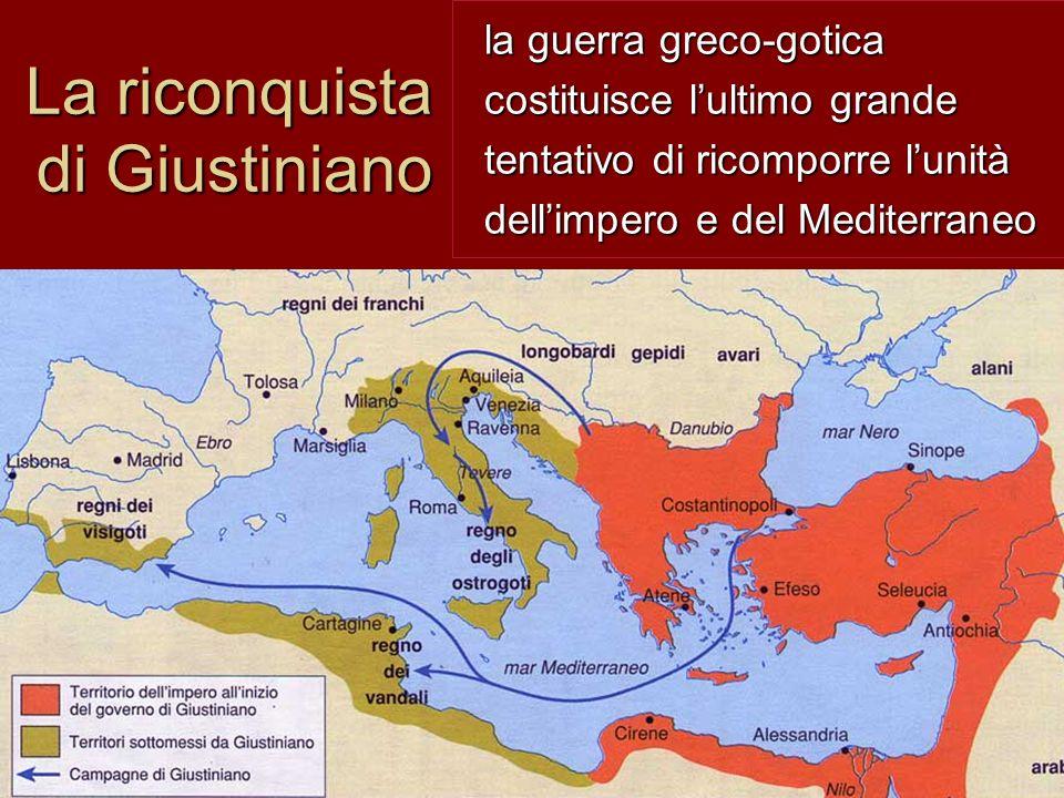 La riconquista di Giustiniano