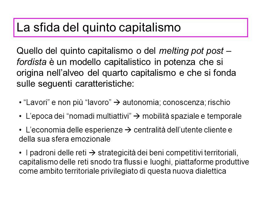 La sfida del quinto capitalismo