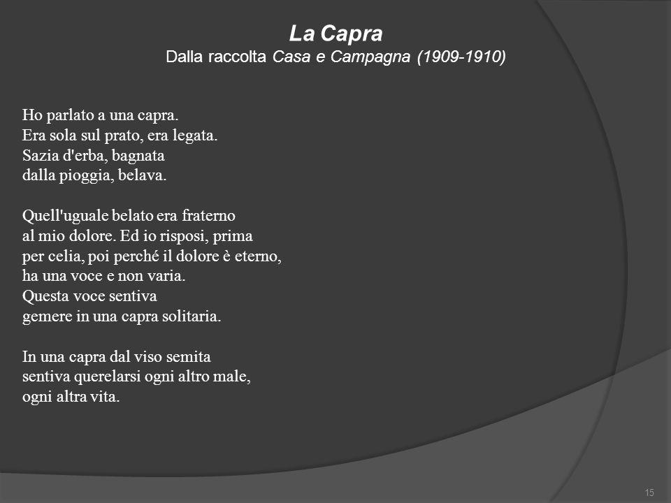 Dalla raccolta Casa e Campagna (1909-1910)