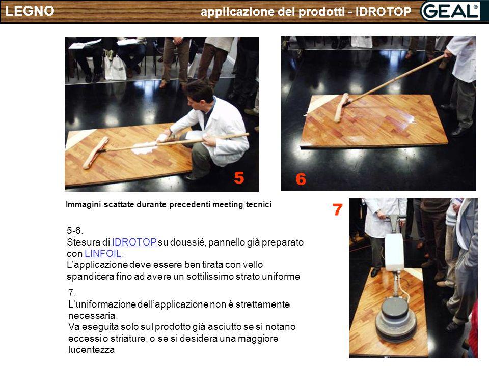 5 6 7 LEGNO applicazione dei prodotti - IDROTOP 5-6.