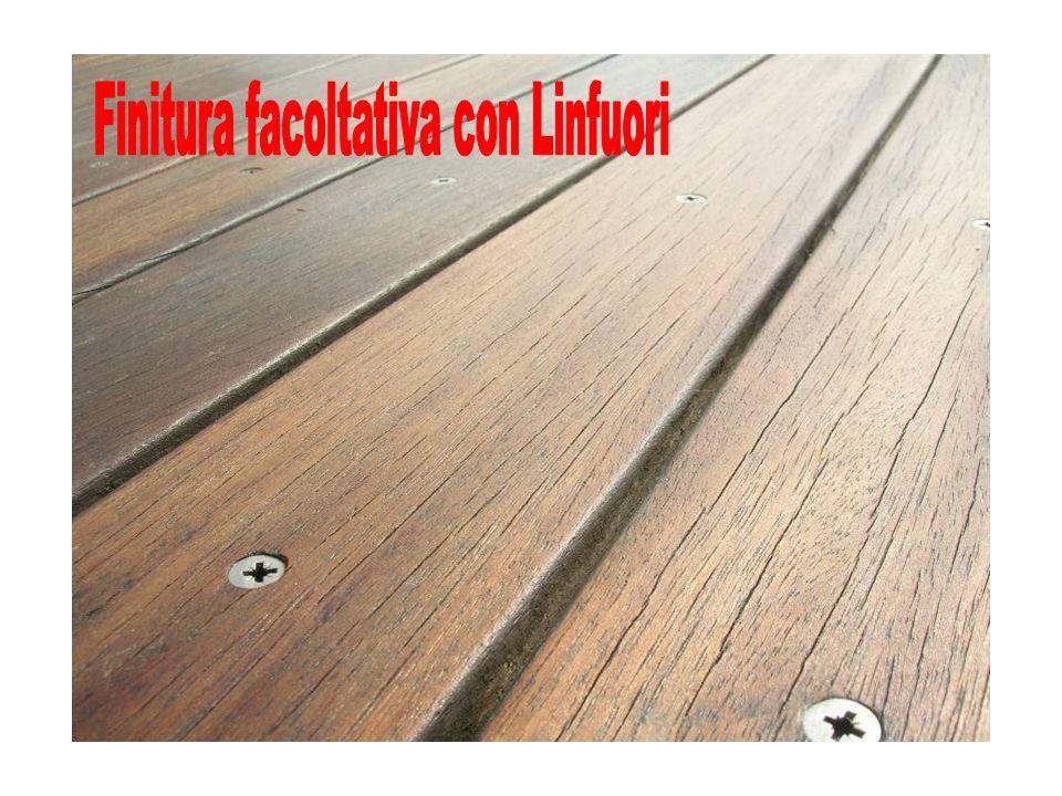 Finitura facoltativa con Linfuori