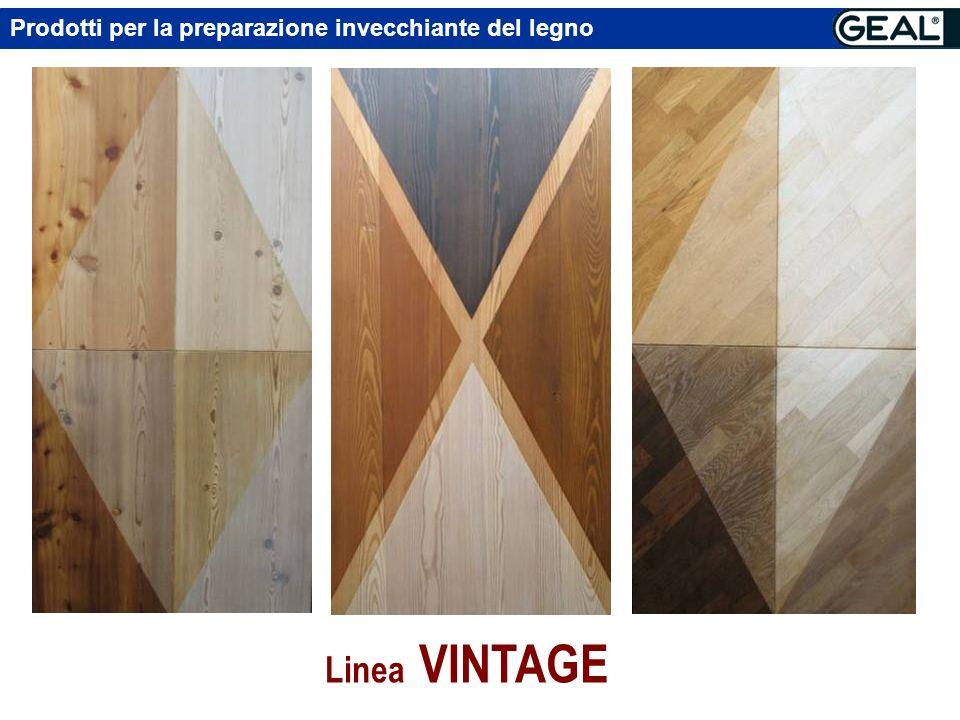 Prodotti per la preparazione invecchiante del legno