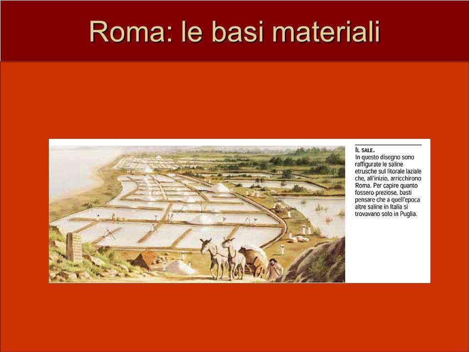 Roma: le basi materiali