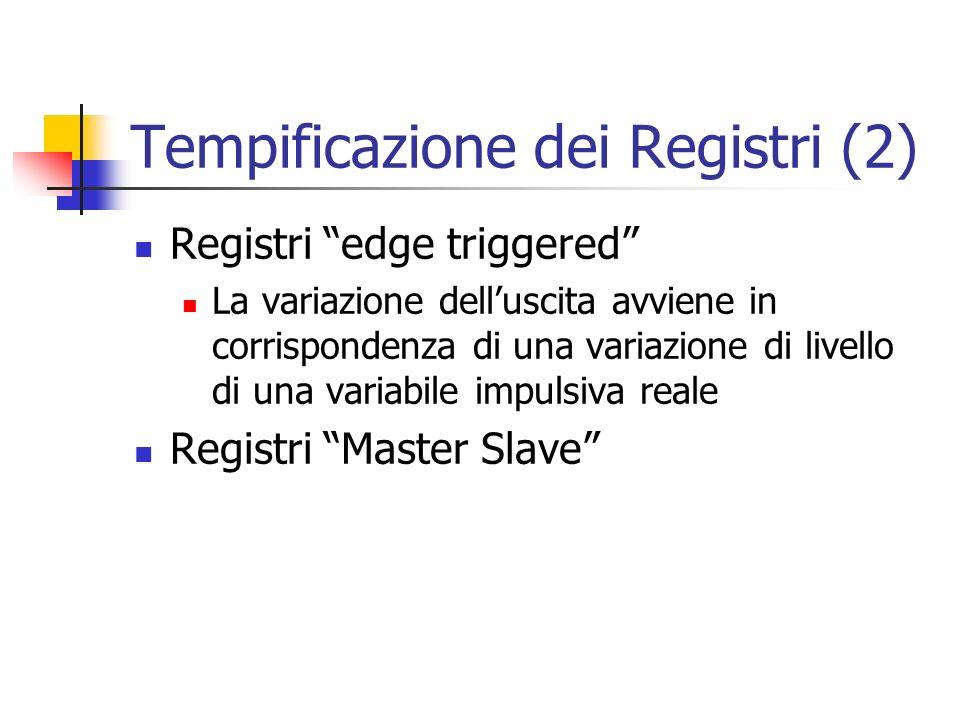 Tempificazione dei Registri (2)