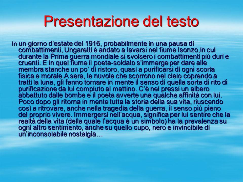 Presentazione del testo