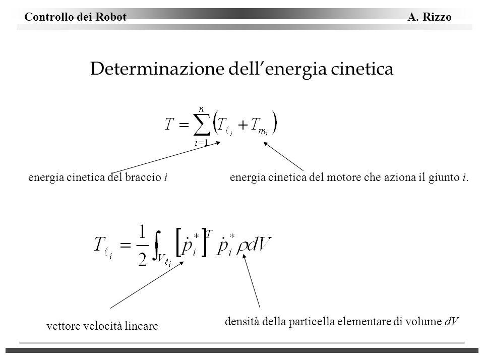Determinazione dell'energia cinetica