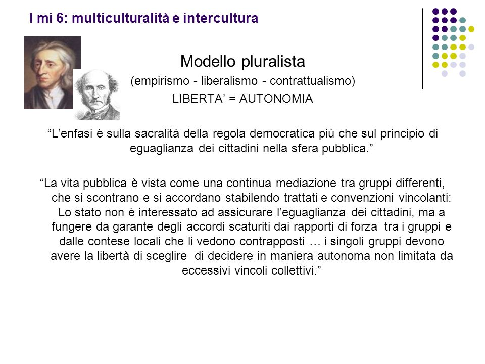 I mi 6: multiculturalità e intercultura