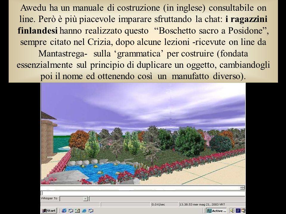 Awedu ha un manuale di costruzione (in inglese) consultabile on line