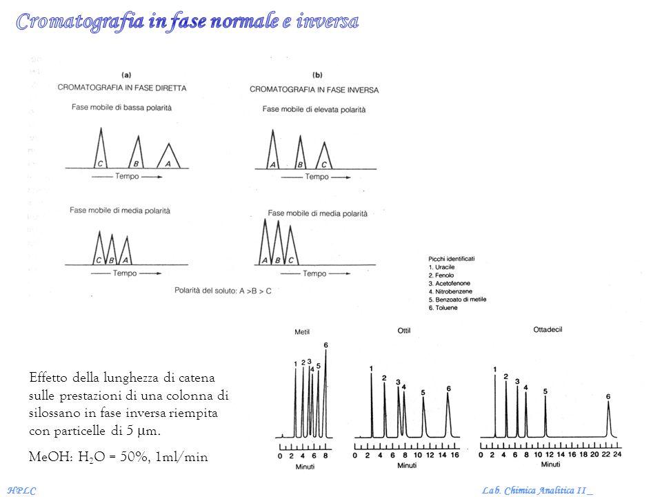 Cromatografia in fase normale e inversa