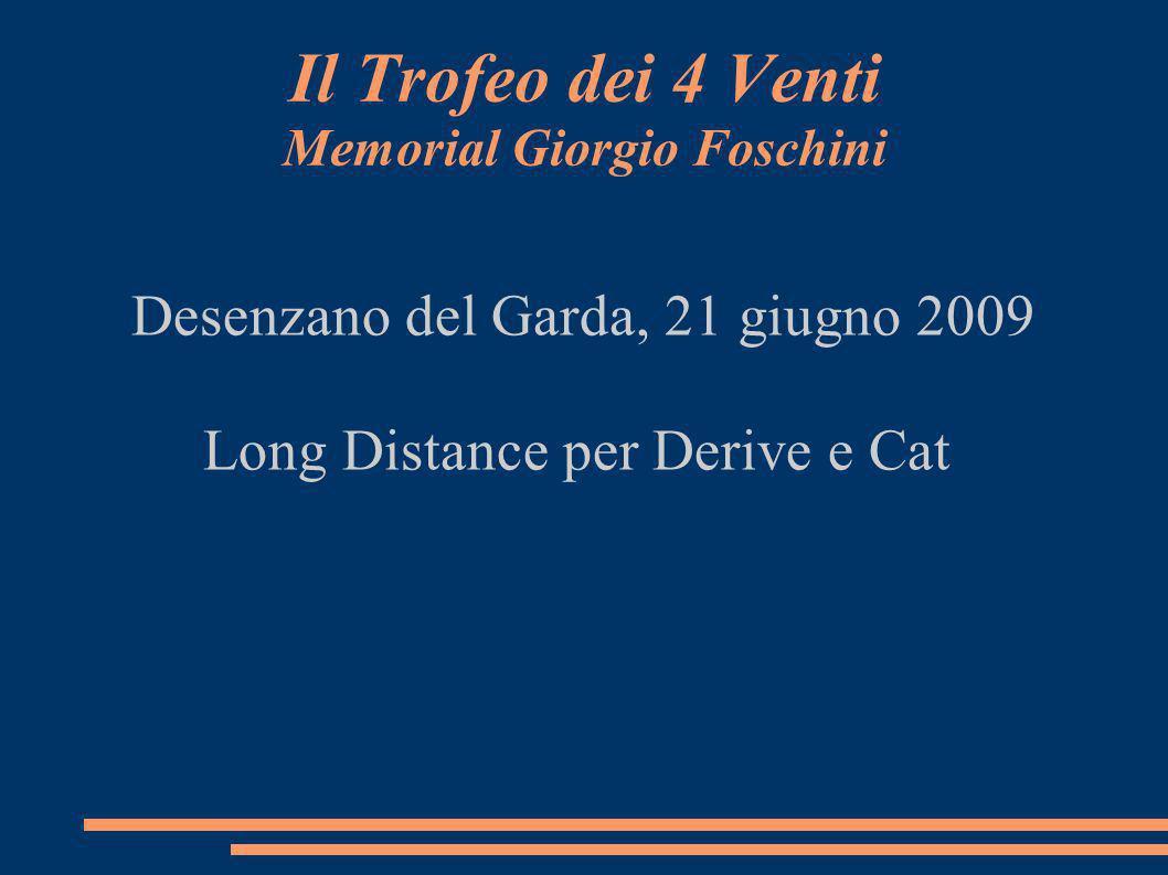 Il Trofeo dei 4 Venti Memorial Giorgio Foschini