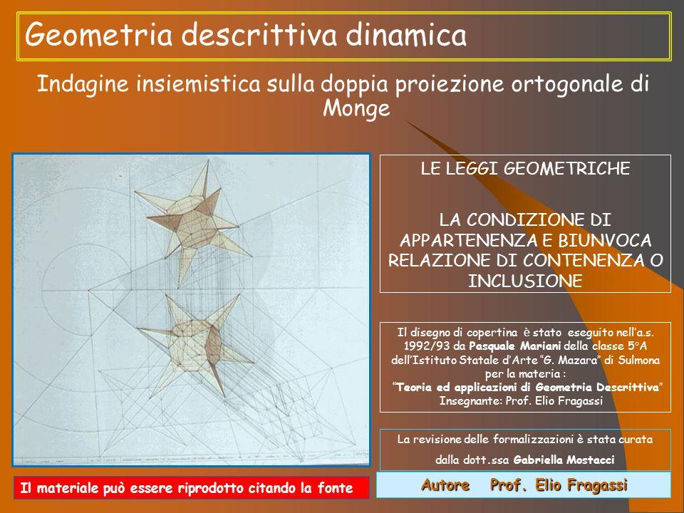 Autore Prof. Elio Fragassi