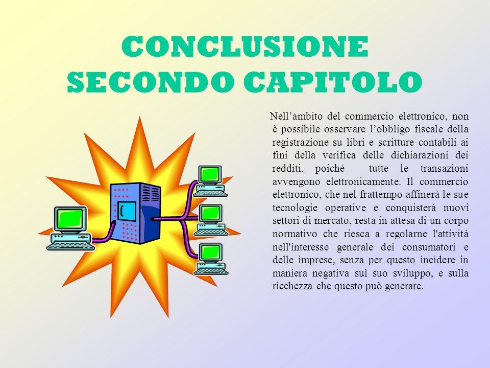 CONCLUSIONE SECONDO CAPITOLO