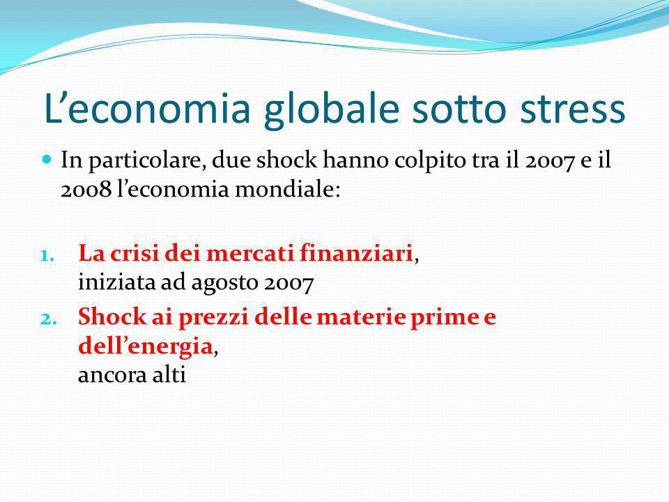 L'economia globale sotto stress