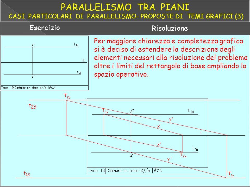 PARALLELISMO TRA PIANI CASI PARTICOLARI DI PARALLELISMO- PROPOSTE DI TEMI GRAFICI (3)