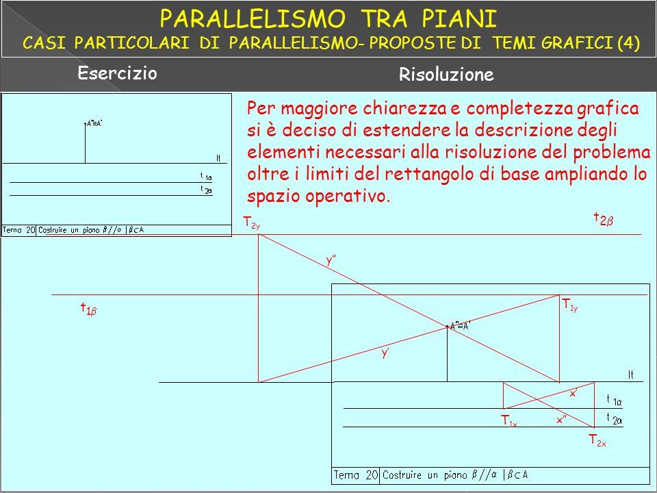 PARALLELISMO TRA PIANI CASI PARTICOLARI DI PARALLELISMO- PROPOSTE DI TEMI GRAFICI (4)