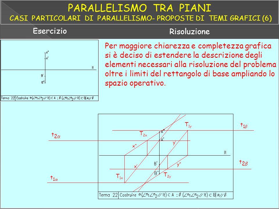 PARALLELISMO TRA PIANI CASI PARTICOLARI DI PARALLELISMO- PROPOSTE DI TEMI GRAFICI (6)