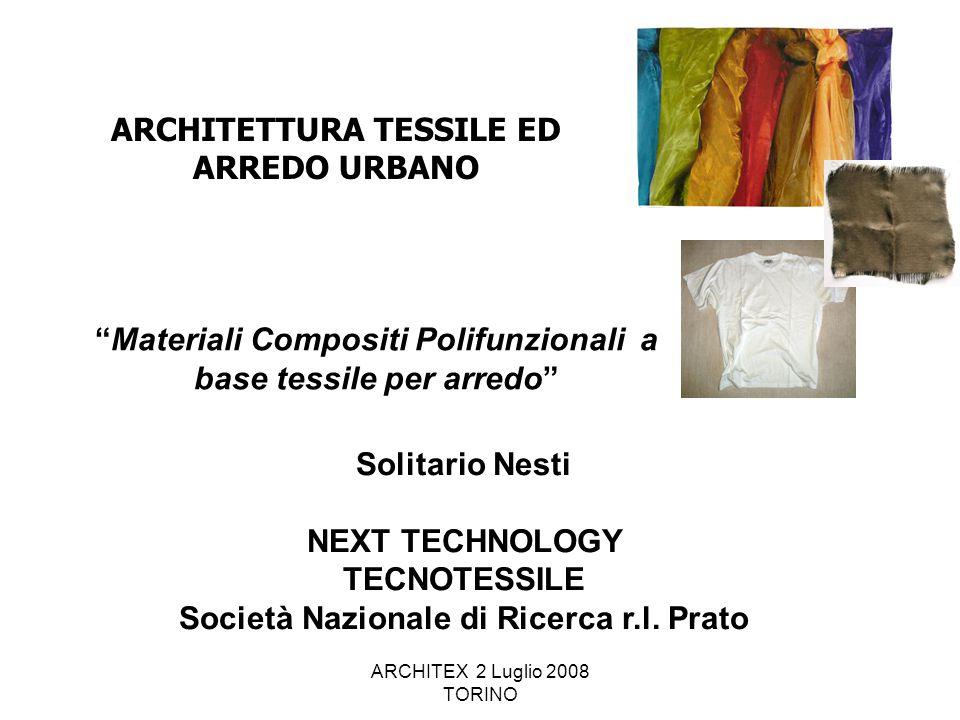 Materiali Compositi Polifunzionali a base tessile per arredo