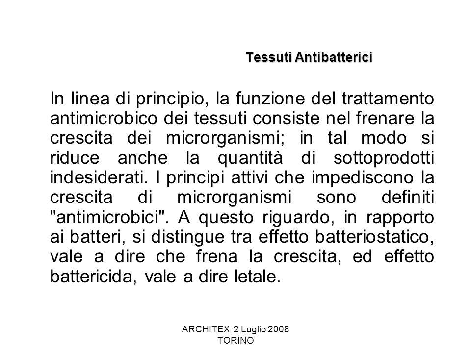 Tessuti Antibatterici