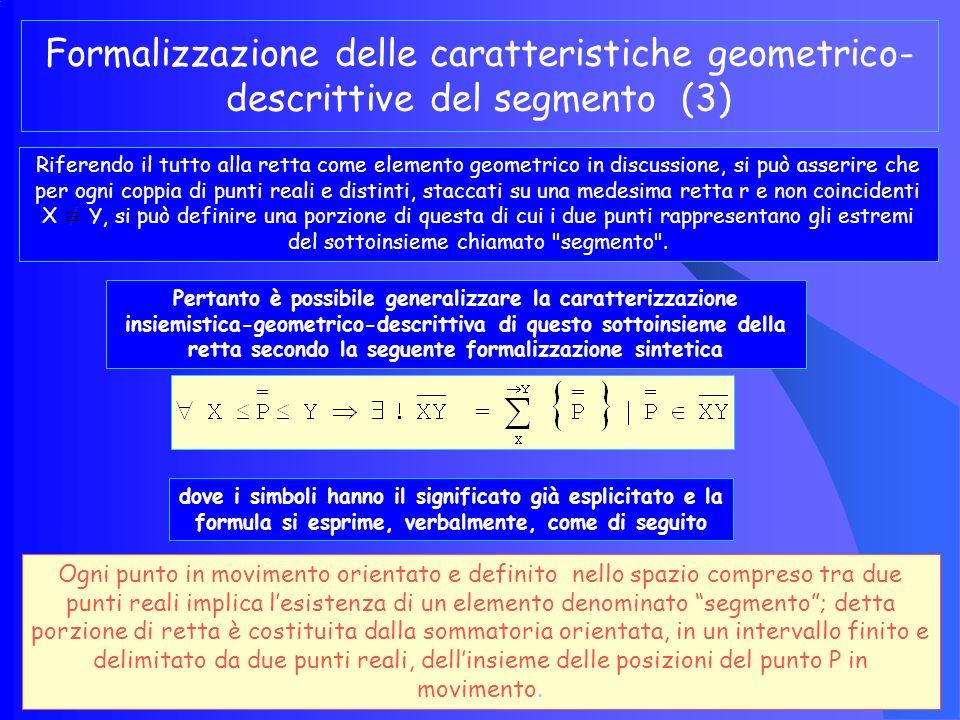 Formalizzazione delle caratteristiche geometrico-descrittive del segmento (3)