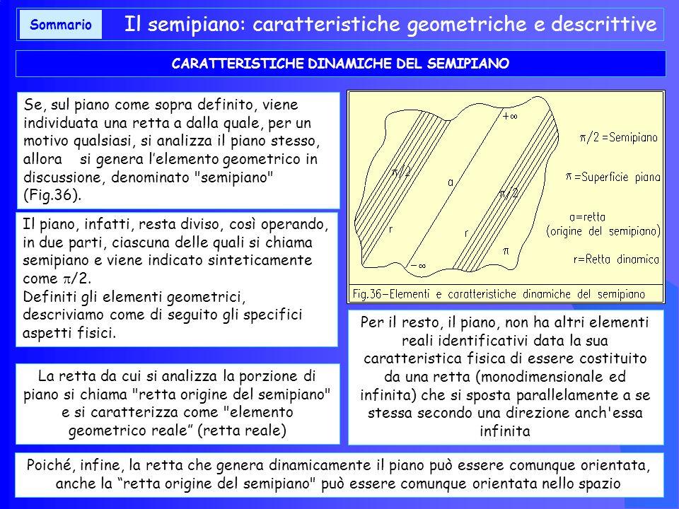 CARATTERISTICHE DINAMICHE DEL SEMIPIANO
