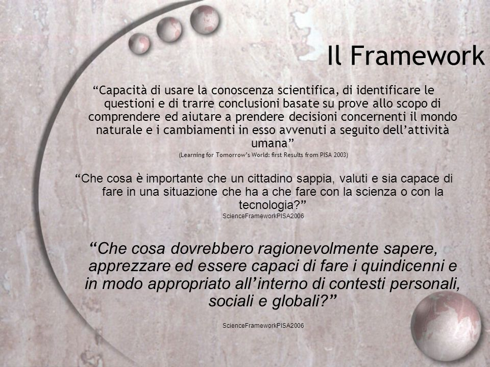 Il Framework