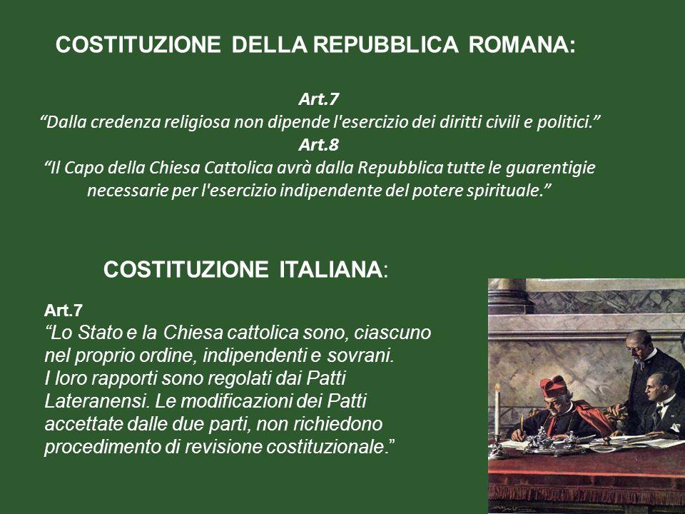 COSTITUZIONE ITALIANA: