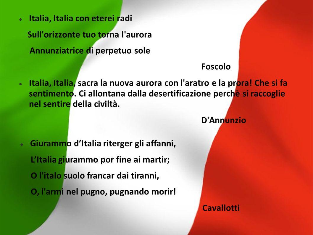 Italia, Italia con eterei radi