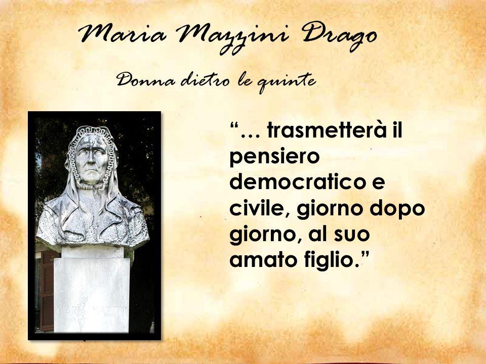 Maria Mazzini Drago Donna dietro le quinte